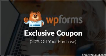 WPForms Exclusive Coupon – 20% Off Your Purchase