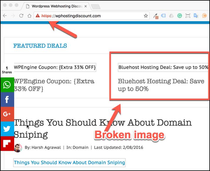 Broken image https issue