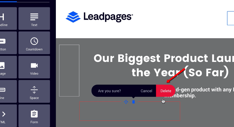 lead-pages- live preview