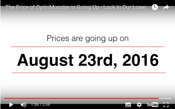 Save While You Can! You Don't Want To Miss This! OptinMonster Price Going Up by 60%