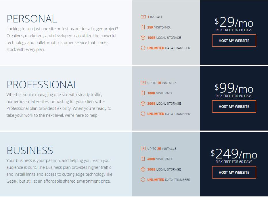 WPengine-pricing