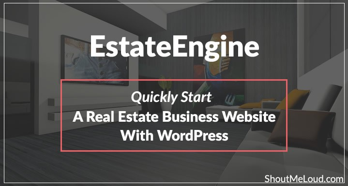 Quickly Start a Real Estate Business Website with WordPress