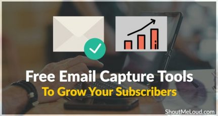 3 More Free Email Capture Tools To Grow Your Subscribers 😀