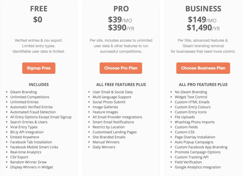 gleam-pricing