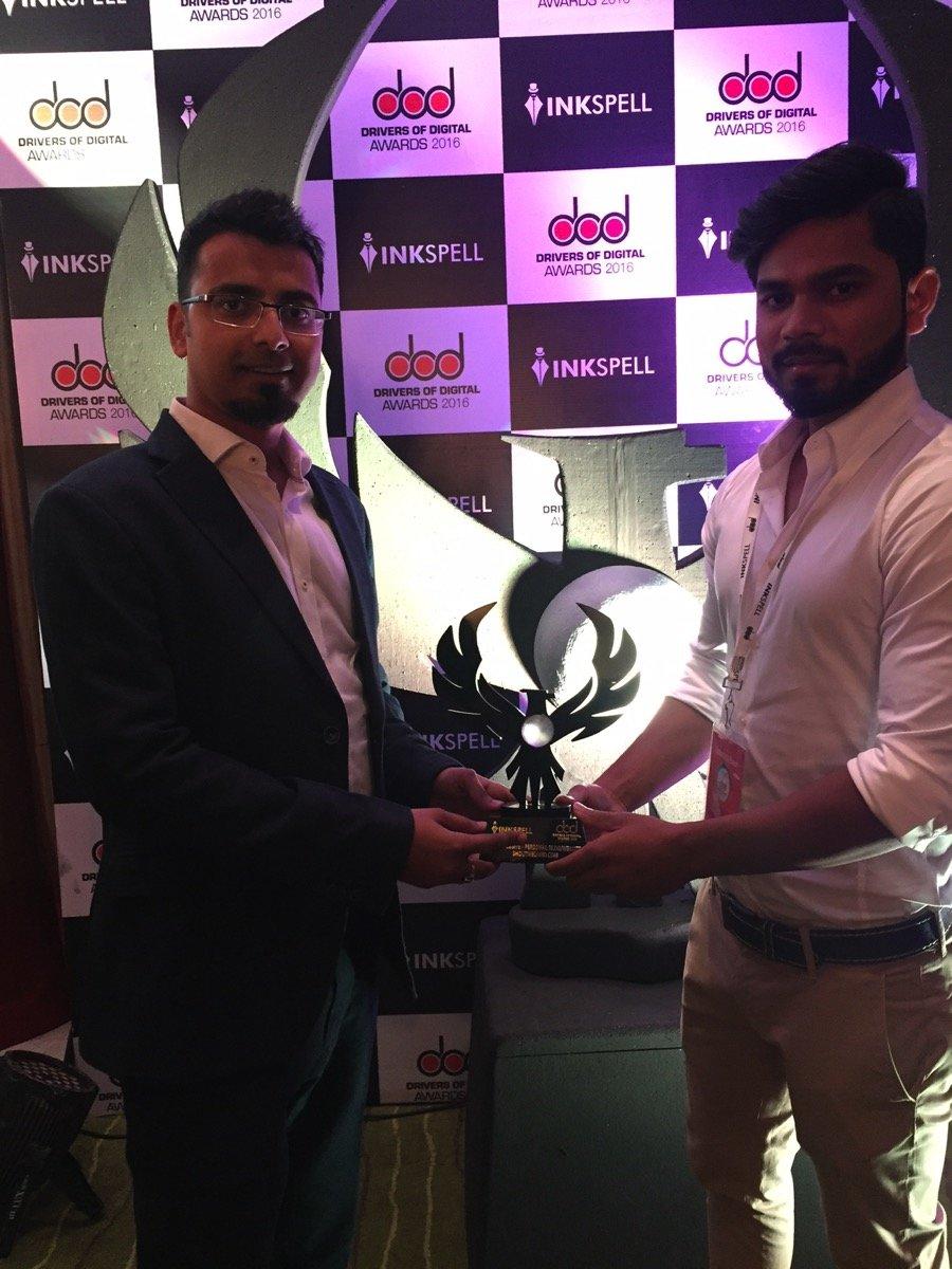 harsh-sharat-best-blog-shoutmeloud-award