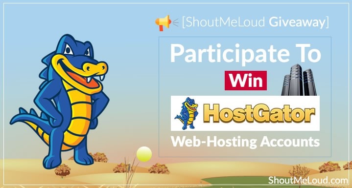 [Giveaway] Win HostGator Baby & Optimized WordPress Hosting Account
