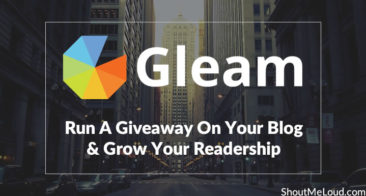 How To Run A Giveaway On Your Blog Using Gleam & Grow Your Readership