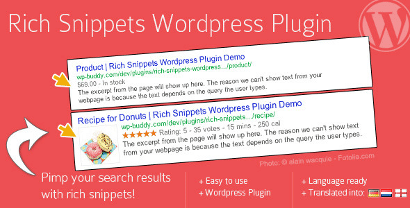 Rich Snippets WordPress Plugin by CodeCanyon