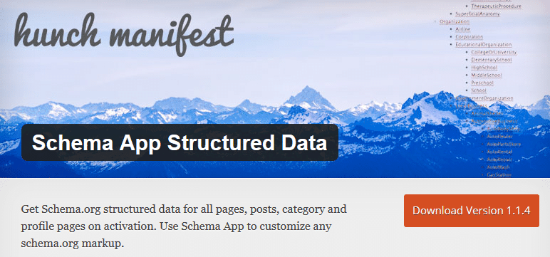 Schema App Structured Data