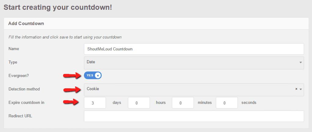 evergreen-countdown-setup
