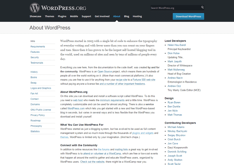 Wordpress Overview