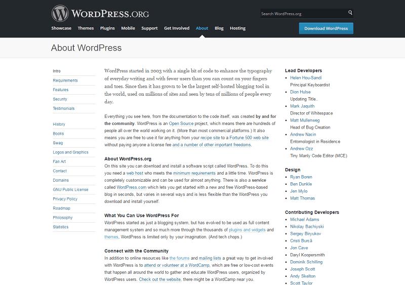 Wordpress Overview