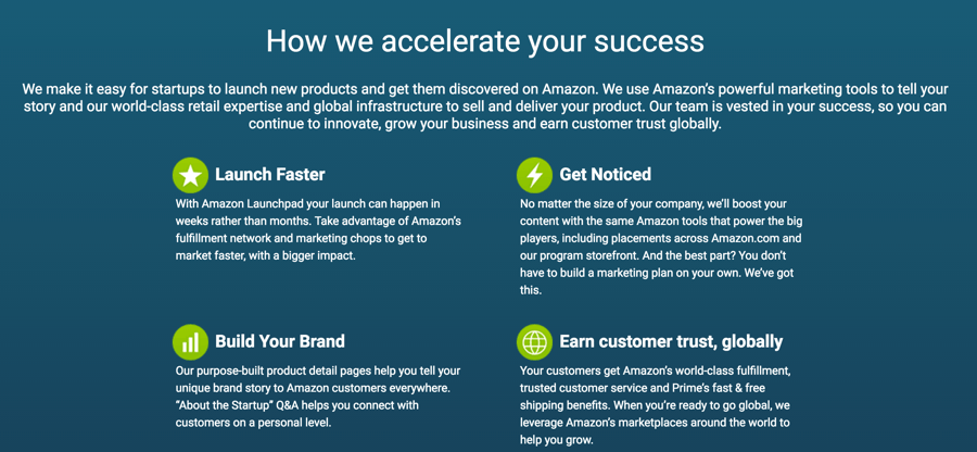 amazon-launchpad-benefits