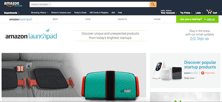 amazon-launchpad-section