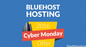 Bluehost Hosting Cyber Monday Offer→ 2016 Best Deal