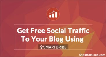 Get Free Social Traffic To Your Blog Using SmartBribe