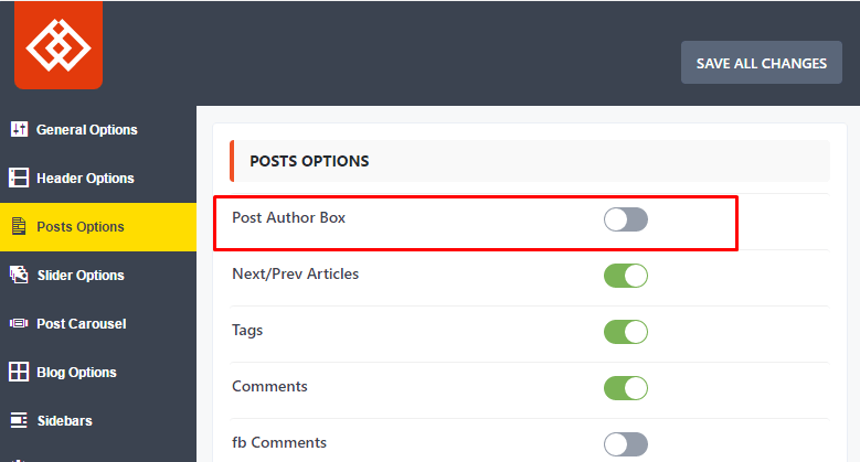 Post author Box