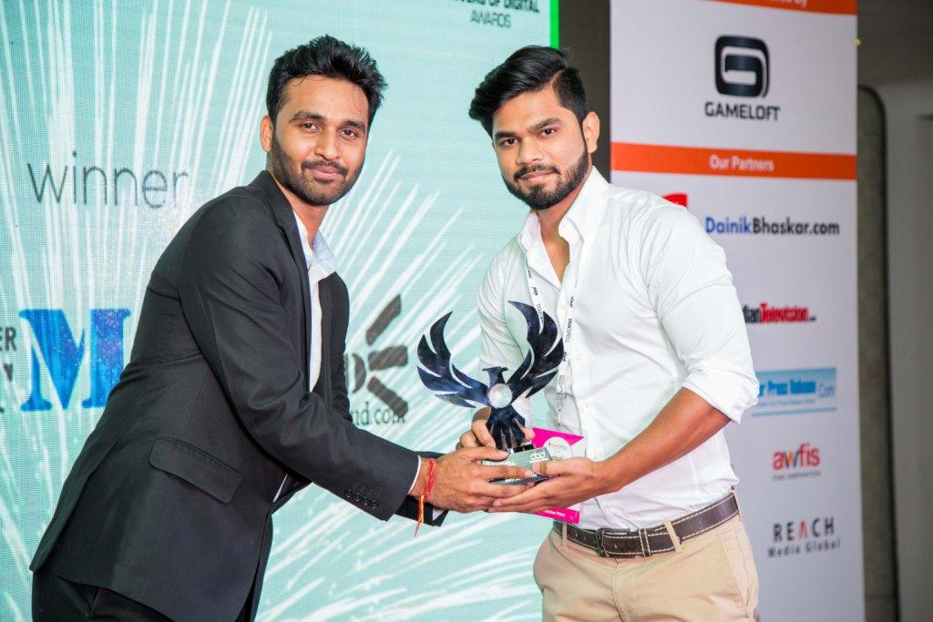 Sharat Nikhil & Best India Blog award