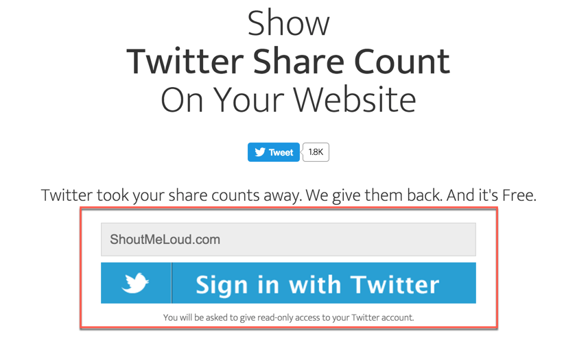 show-twitter-share-count-on-your-website