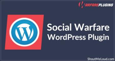 Social Warfare WordPress Plugin: The Only Social Media Sharing Plugin You'll Ever Need