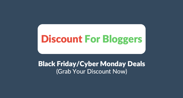 [ Mega Thread] Cyber Monday 2016 Discount For Bloggers