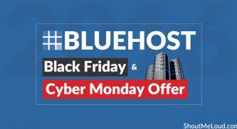 Bluehost Black Friday & Cyber Monday Offer – Biggest Hosting Sale [Live]