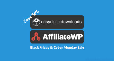 Save 30% on EDD & Affiliate WP Plugin: Black Friday & Cyber Monday SALE!