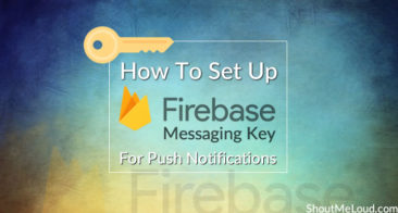 How To Set Up Firebase Messaging Key For Web Push Notifications