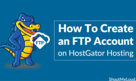How To Create an FTP Account on HostGator Hosting – cPanel Web Hosting
