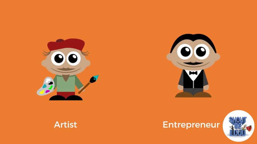 The Artist and the Entrepreneur
