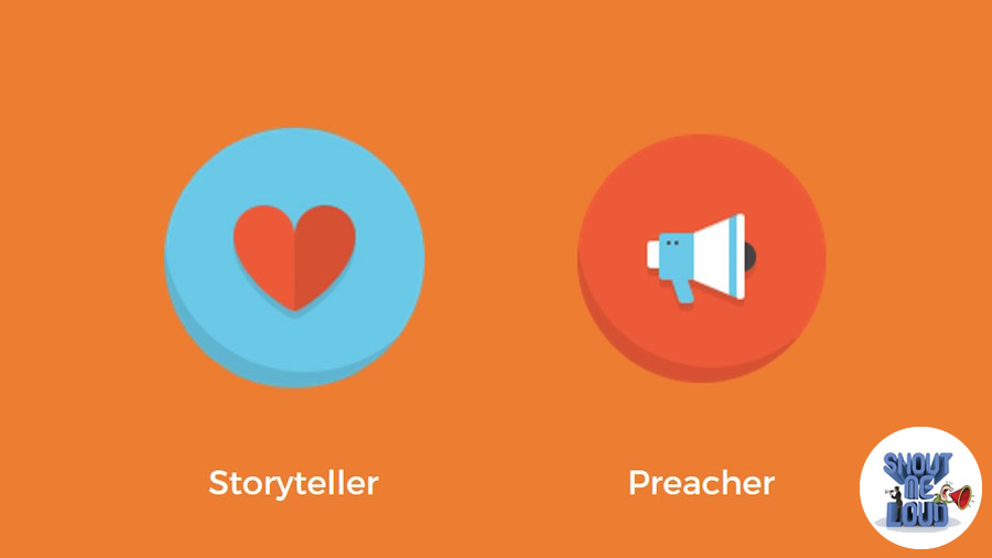 The storytellers and the preachers