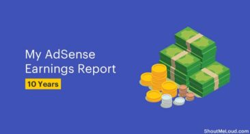 My AdSense Earnings Report for 10 Years: $50000+