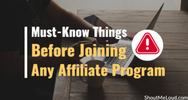 Must-Know Things Before Joining Any Affiliate Program