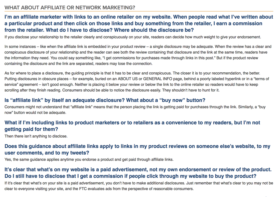 Affiliate or Network Marketing