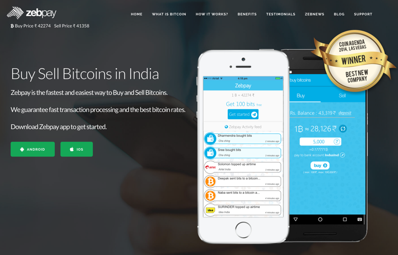 Best indian websites to buy bitcoins 2018 edition zebpay dashboard buy sell bitcoins in india ccuart Choice Image