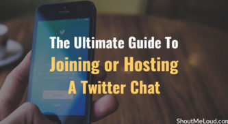 The Ultimate Guide To Joining or Hosting A Twitter Chat