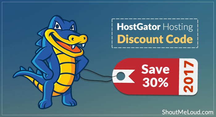 Save 30% on HostGator Hosting: February 2017 Discount Code