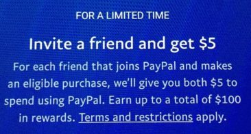 PayPal Referral Program: Earn up to $100 by inviting other users to PayPal