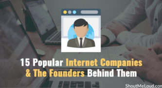 15 Popular Internet Companies & The Founders Behind Them