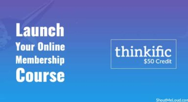 Thinkific $50 Credit: Launch Your Online Membership Course In Style