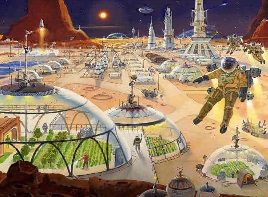 Elon Musk's Mars