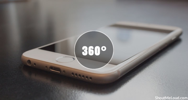 Why & How To Capture 360* Videos/Photos From iPhone: 360 Video Camera In Budget