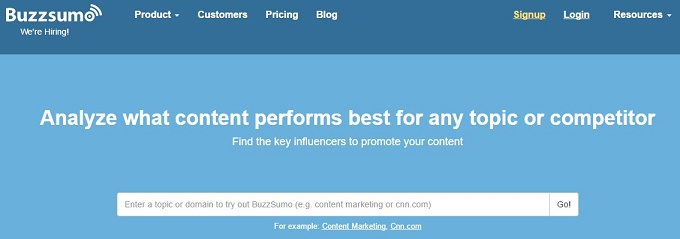 Find the Most Shared Content and Key Influencers