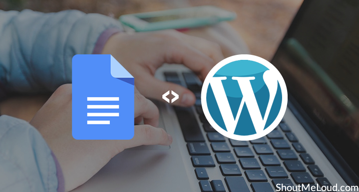 Import Articles from Google Docs to WordPress