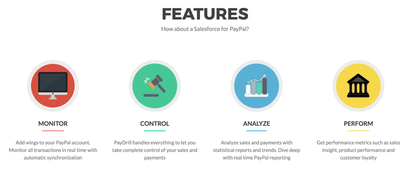 Features of PayDrill