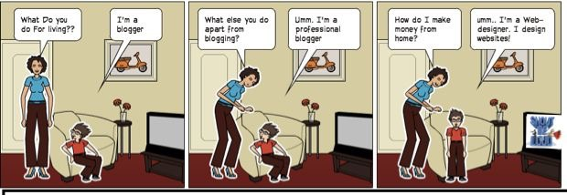 In one of my earlier posts, I used the above comic strip to add in some sarcasm & humor.