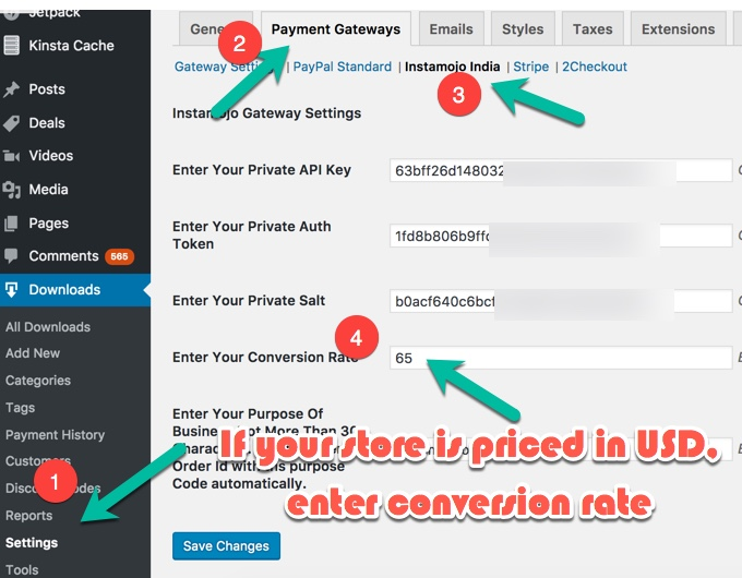 how to make a payment gateway