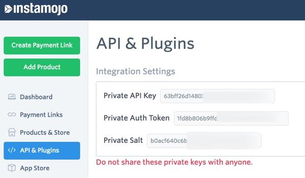 Instamojo API & Plugins