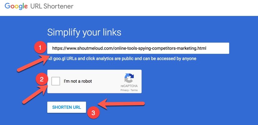 how to change google url