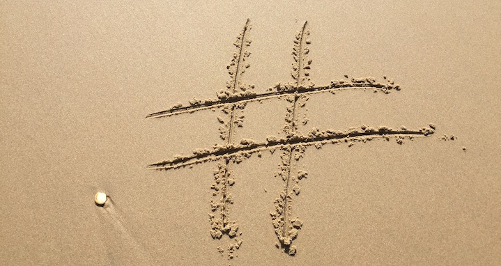 Identify your hashtags
